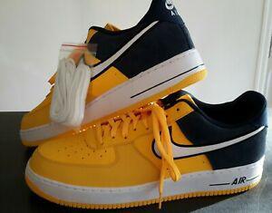 Nike air force one 1 taille 51,5. jaune / bleu marine
