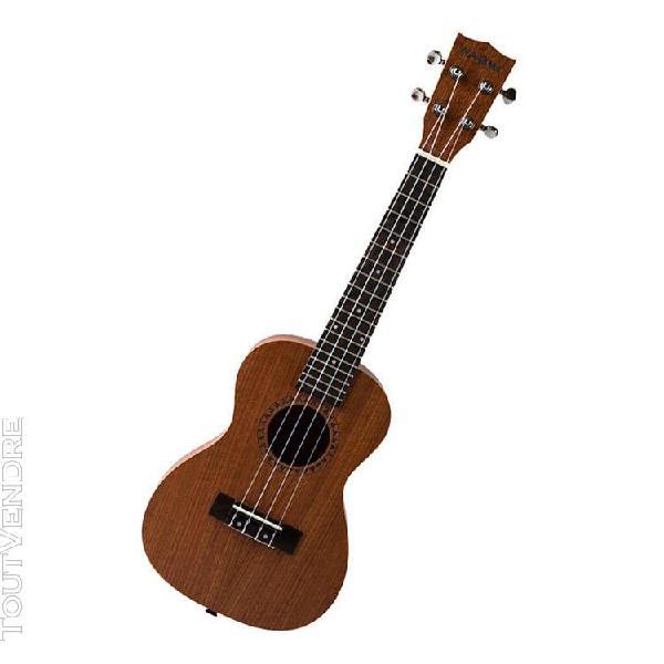 """23"""" sapele ukulele 4 cordes instrument de musique"""