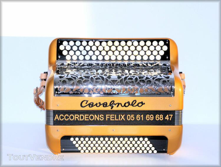 accordeon cavagnolo 80 basses.