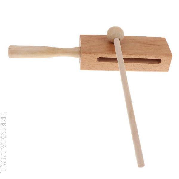 battre À percussion + marteau en bois pour le cadeau de