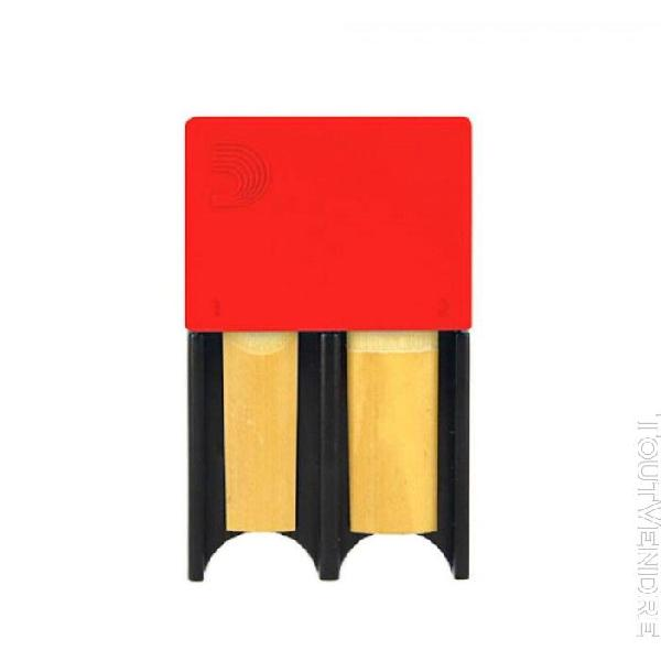 d'addario drgrd4acrd - porte-anches, petit format, rouge