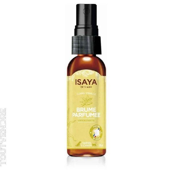 isaya - brume parfumée envoutante pour chien et chat - 50ml