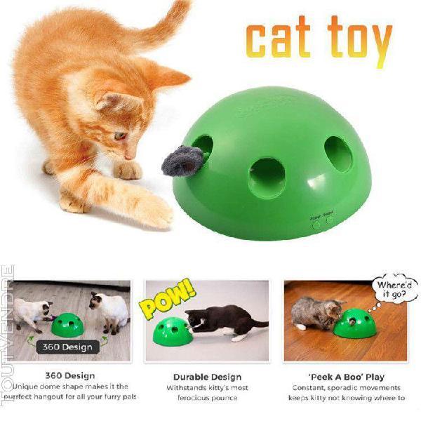 jouet pour chat,automatique tease chat,chat exercice jouet a