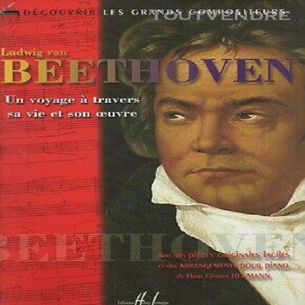 Partition pour piano - ludwig van beethoven voyage à
