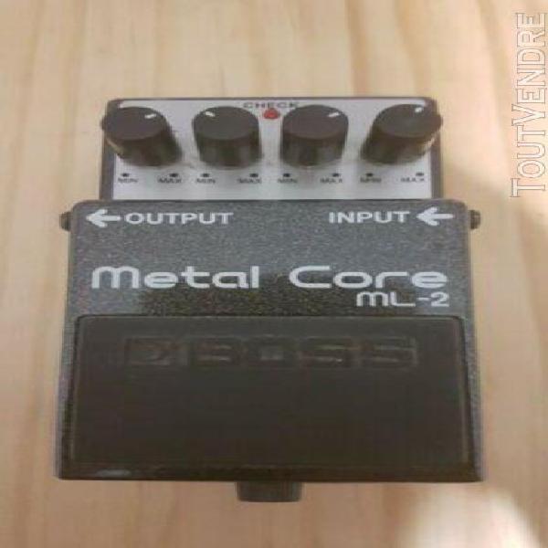 Pedale effet boss metal core ml2