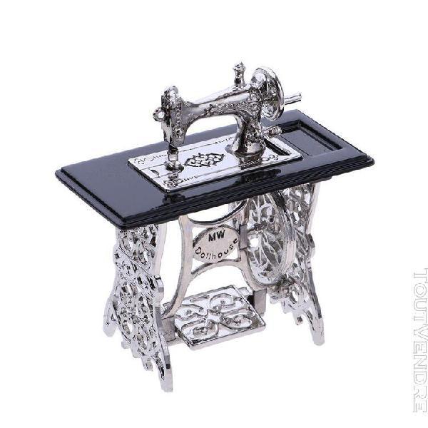 1/12 scale miniature machine à coudre meubles de maison de
