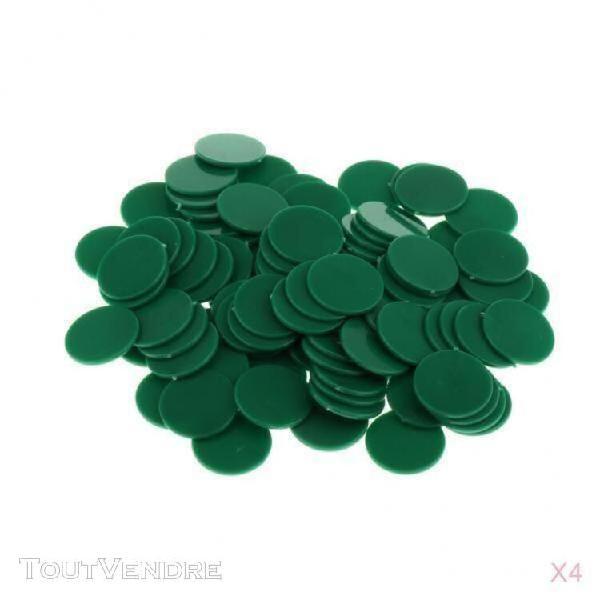 400pcs jetons de bingo counting en plastique compacteurs de