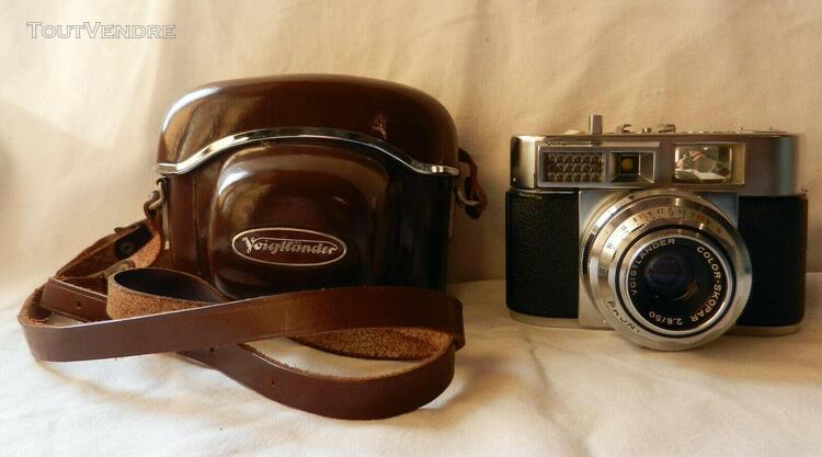ancien appareil photo argentique vitomatic ii a de