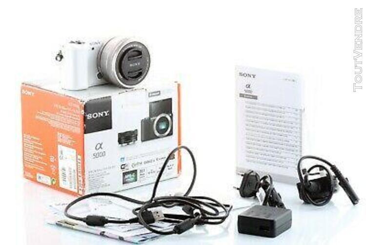boitier numérique sony alpha 5000 + 16-50mm pz oss (ilce