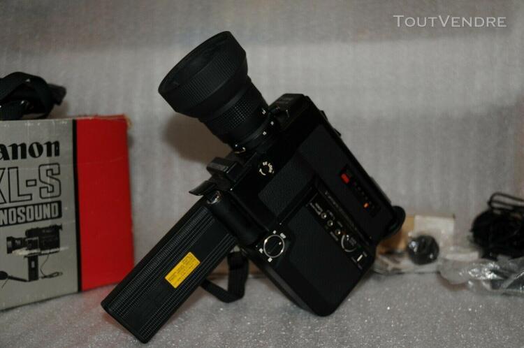 caméra ancienne canon 514 xl-s canosound objectif canon
