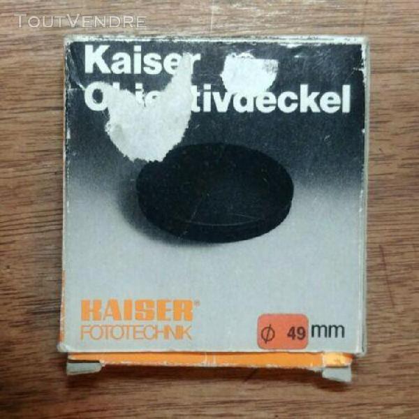 kaiser lens cap 49mm diameter. excellent conditon with origi