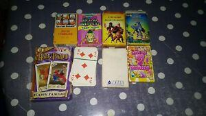 Lot jeu de cartes harry potter, disney...