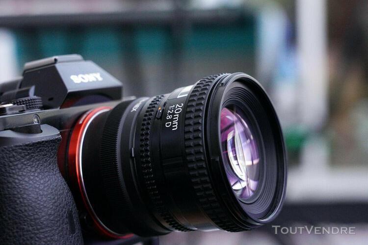 nikon af nikkor 2,8/20mm d - excellent