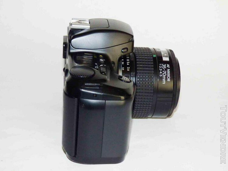 nikon f601 avec objectif af nikkor 35-70mm ensemble en bon