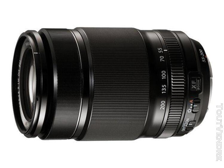 objectif fujinon xf - fonction zoom - 55 mm - 200 mm - f/3.5