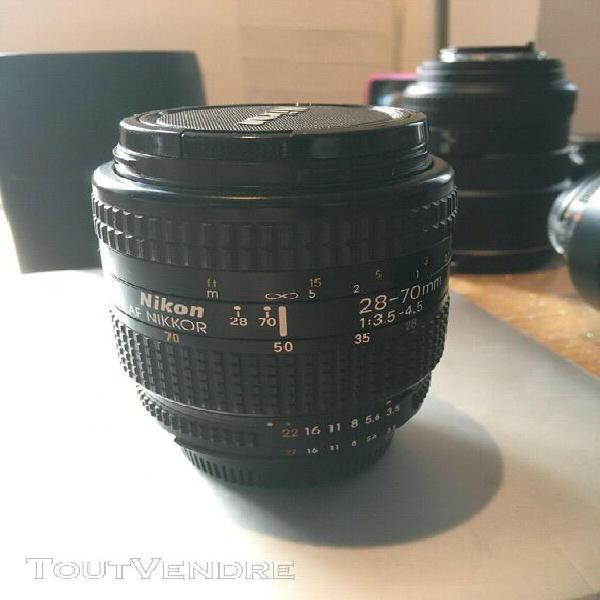 objectif nikkor af-s 28-70mm 3.5-4.5