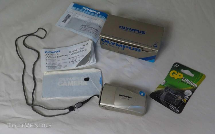 olympus mju ii compact argentique optique 35mm bon état