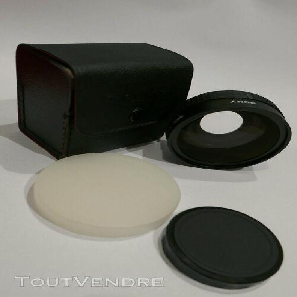 optique sony - convertisseur grand angle (wide conversion le