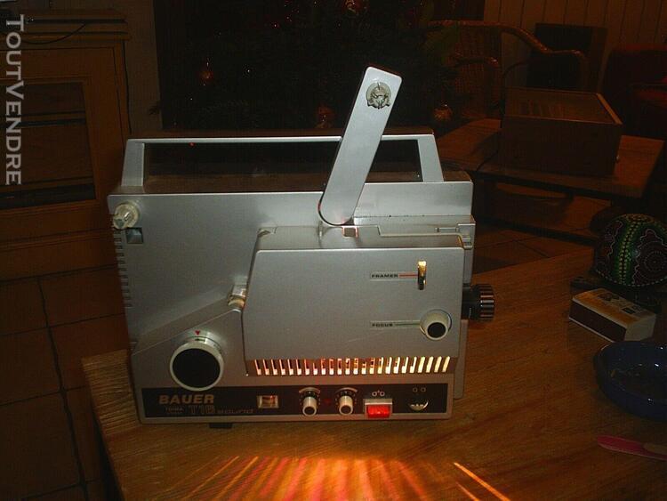 projecteur super 8mm bauer t16 sound