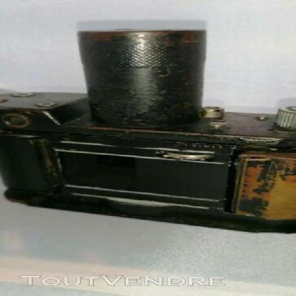 rare. premier appareil photo robot 35 mm à moteur