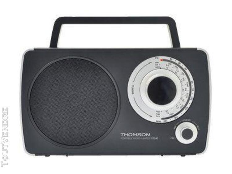 thomson rt240 - radio portable - noir