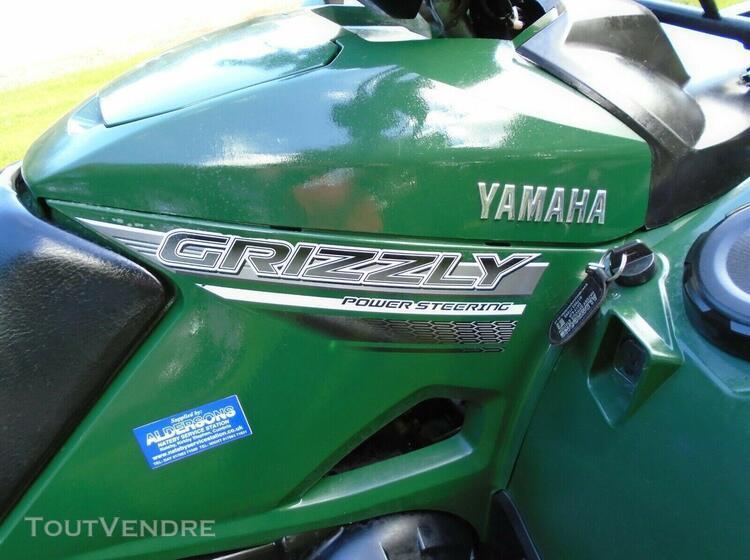 Vtt yamaha quad 2017 grizzly 700 4x4
