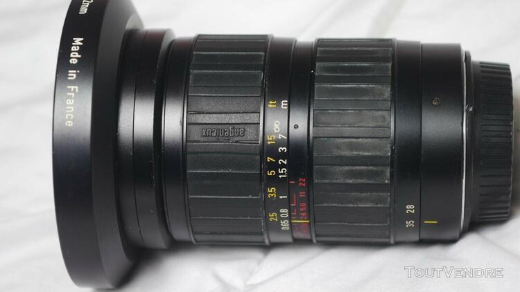 zoom angénieux 28/70 2.6 af pour canon 5d miv a nettoyer,
