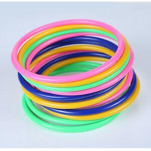 10pcs cercle de brassage anneau hoopla définit le jouet