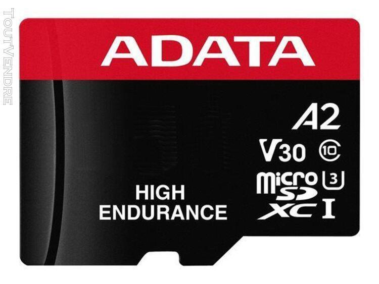 adata high endurance - carte mémoire flash (adaptateur