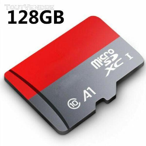 Carte memoire micro sd sdhc sdxc class10 32 go 64 go 128 go