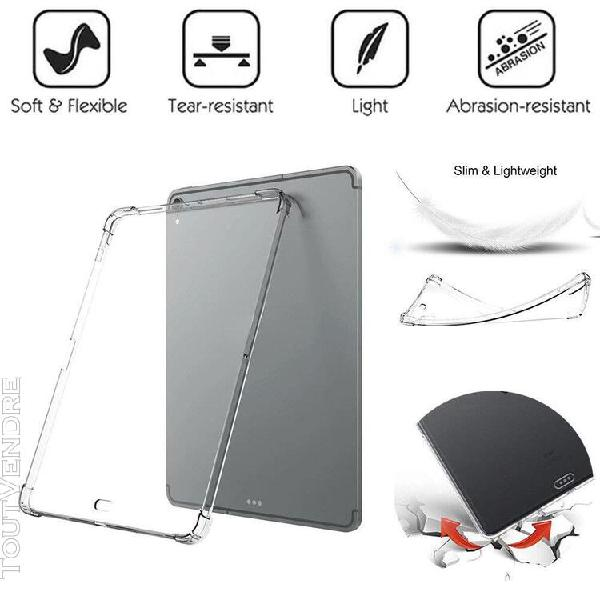 clear slim case soft tpu protection cover for ipad pro 12.9i