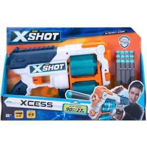 Grandi giochi zuru x-shot xcess excess 12 fléchettes /