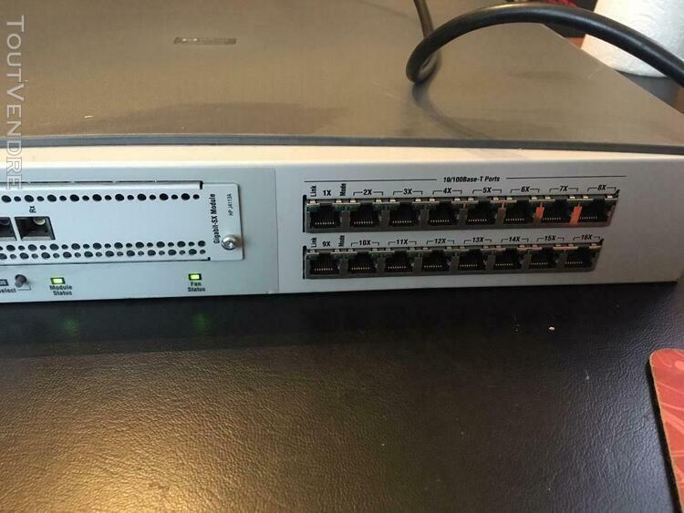 hp j4120a switch 16 ports