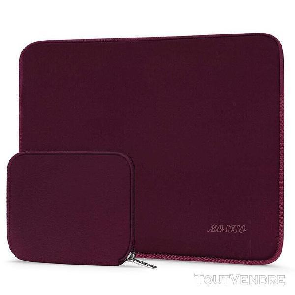 mosiso housse compatible 13-13,3 pouces laptop, laptop sleev