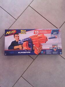 Nerf elite surgefire flechettes jouet cadeau fun amusant