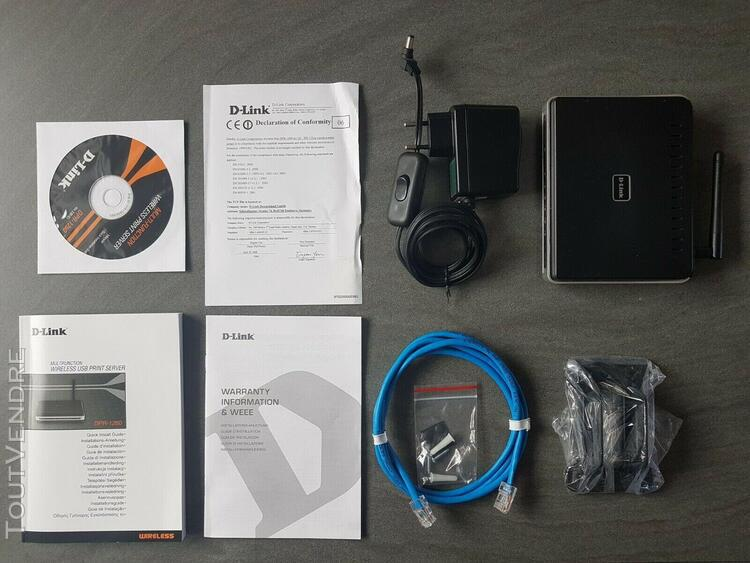 serveur d'impression sans fil multi-fonction d-link dpr-1260