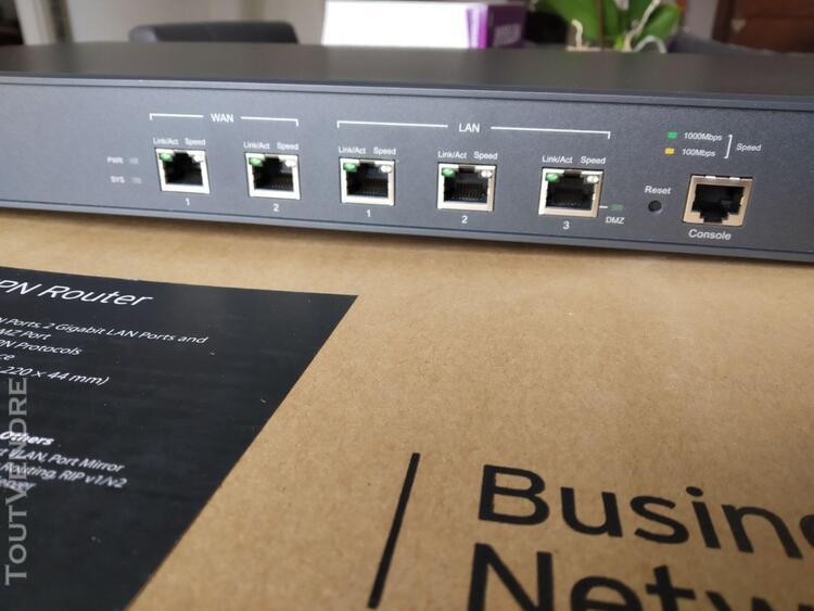 tp-link safestream tl-er6120 - routeur - commutateur 3 ports