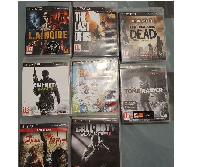 Console ps3 et xbox 360 avec les jeux