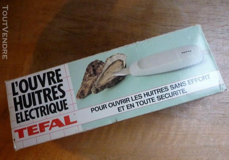 Ouvre huîtres électrique tefal couteau à huîtres en