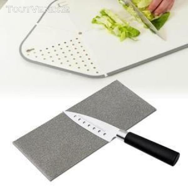 pierre à aiguiser carrée couteau à polir diamant outil à