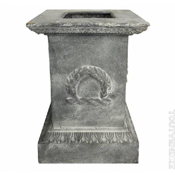 Socle colonne pilier pour vasque jardinière décoration