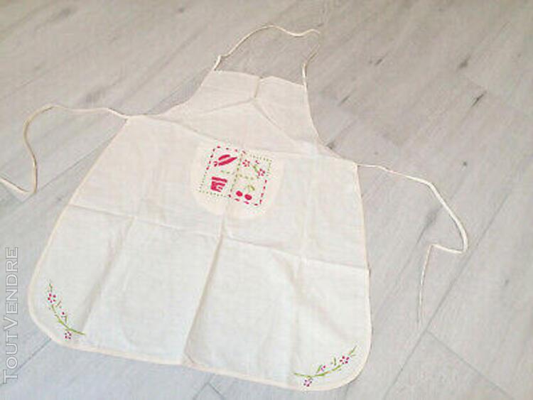 tablier de cuisine pour adulte neuf en coton