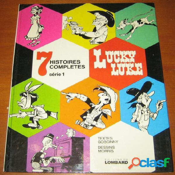 Lucky luke - sept histoires complètes série 1, goscinny - morris