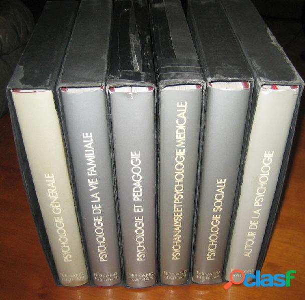 Encyclopédie de la psychologie en 6 tomes