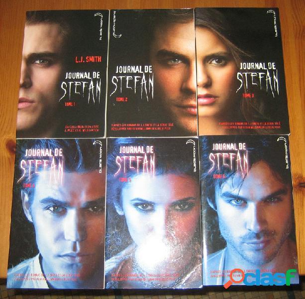 Journal de stefan (6 tomes), l.j. smith
