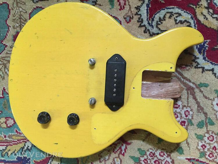 50's gibson les paul tv junior body broken neck project luth