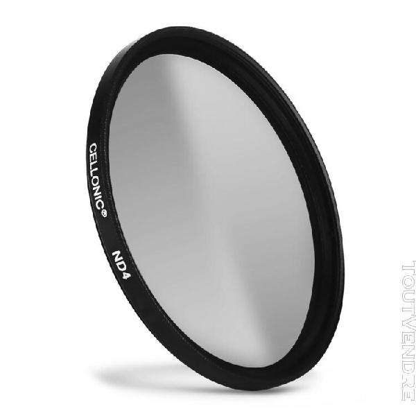Filtre densité neutre nd4 pour canon ø 49mm filtre gris