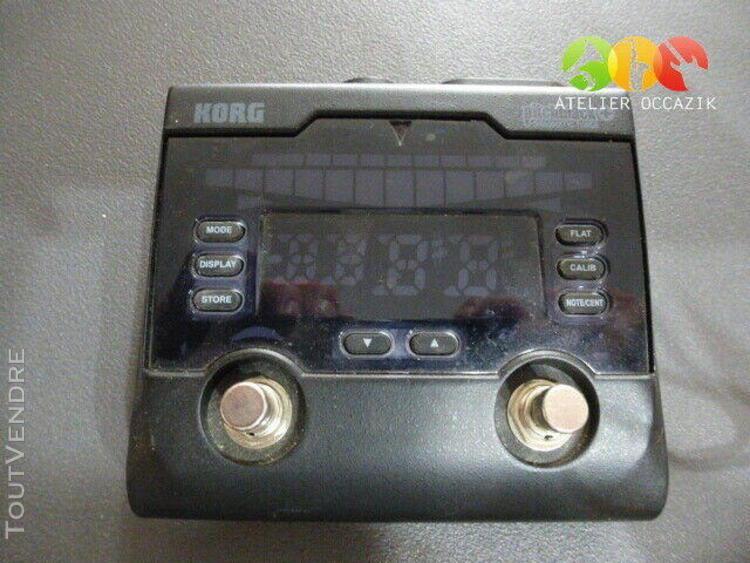 korg pitchblack plus pb02 accordeur