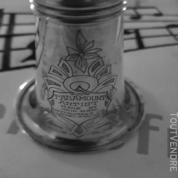 """superbe clarinette métal argenté """" paramount artist"""""""