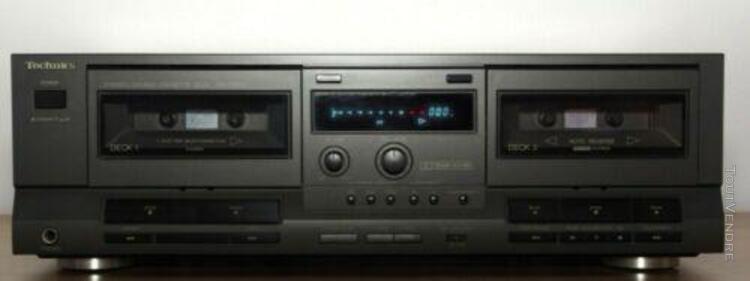 Technics stereo double cassette deck rs-tr212. neuf jamais u